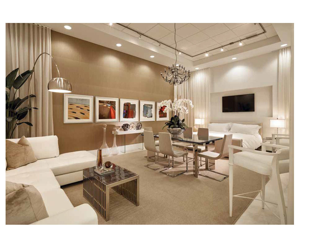 Interior Design Showroom Catalog | Now By Steven G, Living Room And Dining  Room Interior